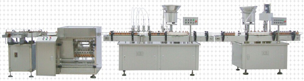 输液瓶灌装生产线