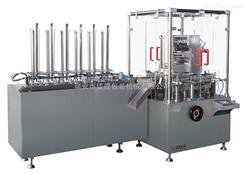 JDZ-120D全自动立式创口贴装盒机应用