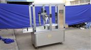 新型全自動粉劑灌裝壓塞旋蓋機