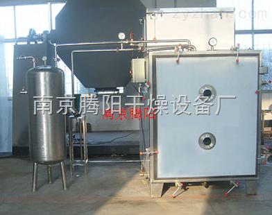 热水加热平板式低温真空干燥箱