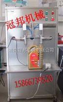 曲阜小型润滑油灌装机 济南冠邦机械