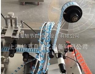 余姚线束对折贴标签机 端子线对折贴标机
