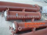 宝鸡TA2钛换热器,钛冷凝器,钛蒸发器