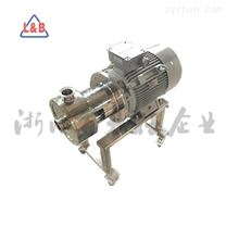 厂家直供 不锈钢卫生级管线式单级高剪切 均质乳化泵 乳化机