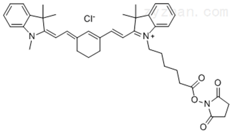 Cy3 Cy3.5 Cy5 Cy5.5 Cy7 Cy7.5 NHS ester活性酯